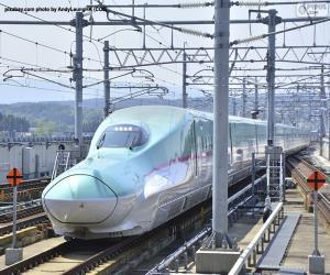 Rompicapo di Treno proiettile Shinkansen, Giappone