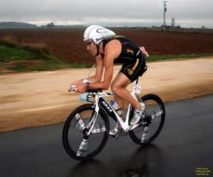 Rompicapo di Triatleta nel ciclismo