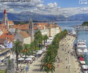 Rompicapo di Trogir, Croazia