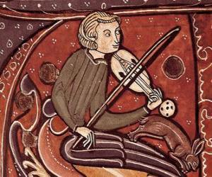Rompicapo di Trovatore o giullare, poeta cantante o intrattenitore del Medioevo in Europa