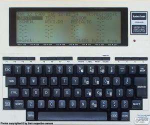 Rompicapo di TRS-80 Model 100 (1983)