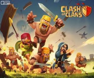 Rompicapo di Truppe, Clash of Clans