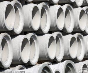 Rompicapo di Tubi di calcestruzzo