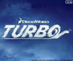 Rompicapo di Turbo, il logo del film