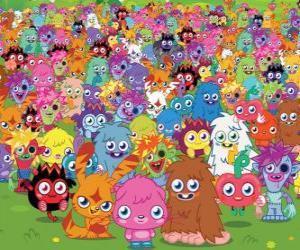 Rompicapo di Tutti i mostri di Moshi Monsters