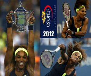 Rompicapo di U. S. Open campione Serena Williams 2012