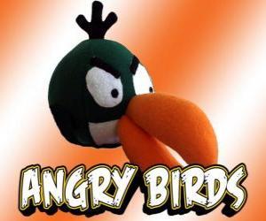 Rompicapo di Uccello Verde (Green Bird), uccello con effetto boomerang