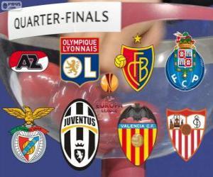 Rompicapo di UEFA Europa League 2.013-14 Quarti di finale
