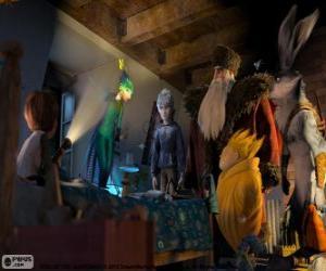 Rompicapo di Un bambino scopre i Guardiani immortali