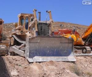 Rompicapo di Un bulldozer