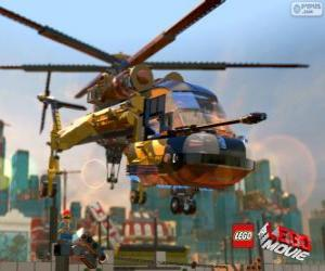 Rompicapo di Un elicottero del film Lego