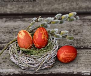 Rompicapo di Un nido di Pasqua