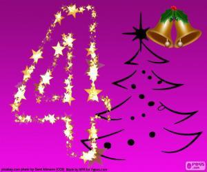 Rompicapo di Un numero 4 di Natale