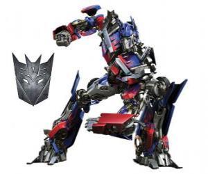 Rompicapo di Un trasformatore, un robot intelligente. Transformers