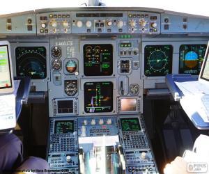 Rompicapo di Una cabina del velivolo
