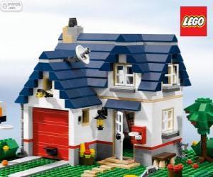 Rompicapo di Una casa di Lego