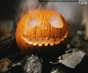 Rompicapo di Una fumante zucca di Halloween