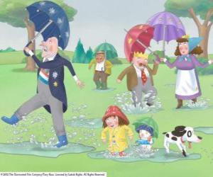 Rompicapo di Una giornata di pioggia nel Regno della Piccola Principessa