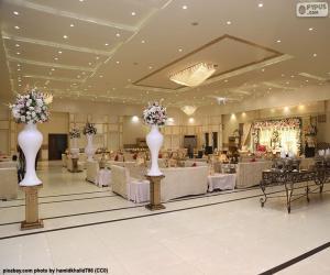 Rompicapo di Una grande sala matrimoni