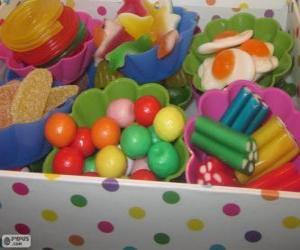 Rompicapo di Una scatola di caramelle