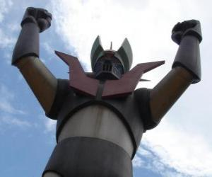 Rompicapo di Una statua di Mazinga Z