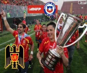Rompicapo di Unión Española, campione del Torneo de Transición 2013, Cile