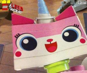 Rompicapo di Unikitty, la gattina unicorno della grande avventura di Lego, film