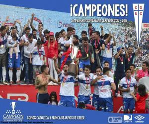 Rompicapo di Universidad Católica, campione del 2016