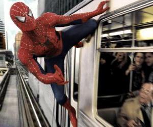 Rompicapo di Uomo ragno in azione