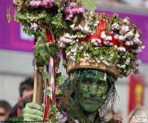 Rompicapo di Uomo verde, Carnevale