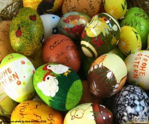Rompicapo di Uova di Pasqua assortite