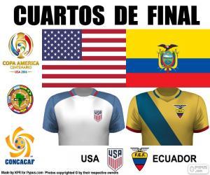 Rompicapo di USA - ECU, Copa América 2016