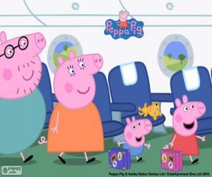 Rompicapo di Vacanza famiglia Peppa Pig