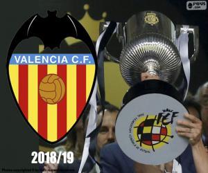 Rompicapo di Valencia CF, Copa del Rey 2018-19