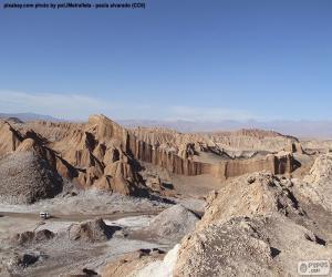 Rompicapo di Valle della luna, Cile