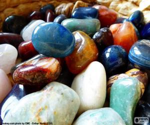 Rompicapo di Vari minerali