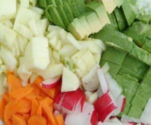 Rompicapo di Vari verdura