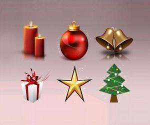 Rompicapo di Varie Natale ornamenti