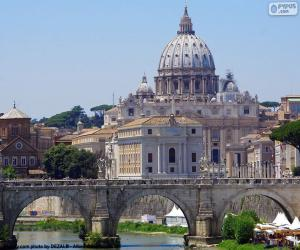 Rompicapo di Vaticano, Roma, Italia