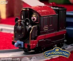 Rompicapo di Vecchio Pete, la locomotiva a vapore è la più antica chugger in Chuggington
