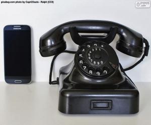 Rompicapo di Vecchio telefono vs cellulare