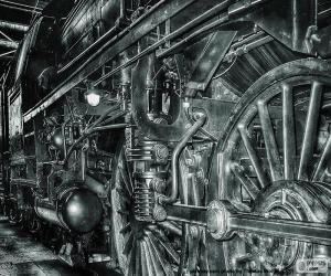 Rompicapo di Vecchio treno a vapore