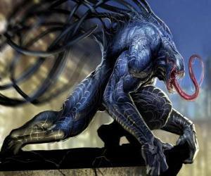 Rompicapo di Venom è una forma di vita simbionte e uno degli acerrimi nemici di Spider-Man