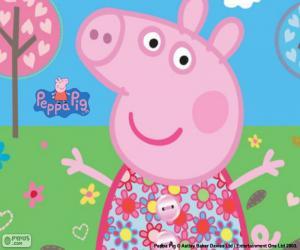 Rompicapo di Vestito a fiori Peppa Pig