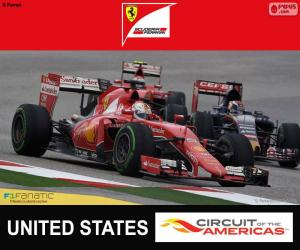 Rompicapo di Vettel, G. P d'America 2015
