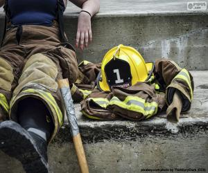 Rompicapo di Vigile del fuoco a riposo