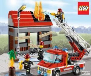 Rompicapo di Vigili del fuoco di Lego