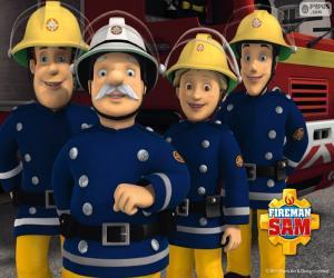 Rompicapo di Vigili del fuoco di Pontypandy