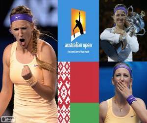 Rompicapo di Viktoria Azarenka campione Open Australia 2013
