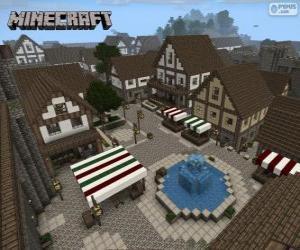 Rompicapo di Villaggio di Minecraft